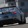 Nissan 350z on the track